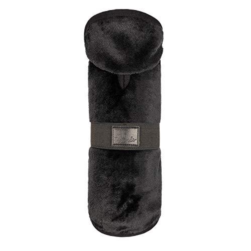 Abrigo Perros Salchicha - Daschund Clothes (Negro, Small)