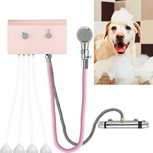 Máquina de baño para mascotas, Lavadora inteligente para mascotas, Peluquería para mascotas Máquina de baño Separador de champú Dilución automática Lavado corporal Ahorre champús Dispositivo de lavado
