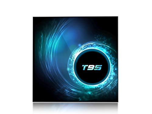 T95 Smart TV Box Android 10 4GB 128GB Allwinner H616 Quad Core CPU 2.4G 5G Dual WiFi BT LAN Support 1080P H.265 4K Set top Box