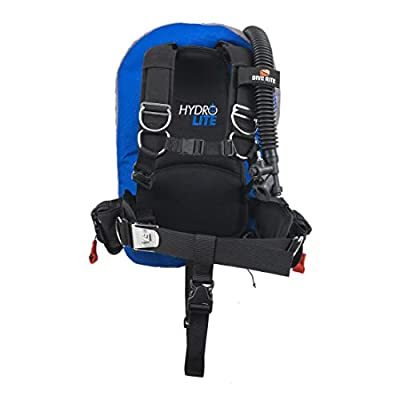 Dive Rite Hydro Lite BC Lightweight Traveling BCD Buoyancy Compensator Device (Medium)