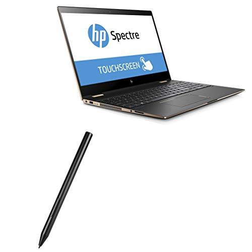 Caneta Stylus HP Spectre x360 15t Touch (4hg39av), BoxWave [ActiveStudio Active Stylus 2020] Caneta eletrônica com ponta ultrafina para HP Spectre x360 15t Touch (4hg39av) - Preto Jet