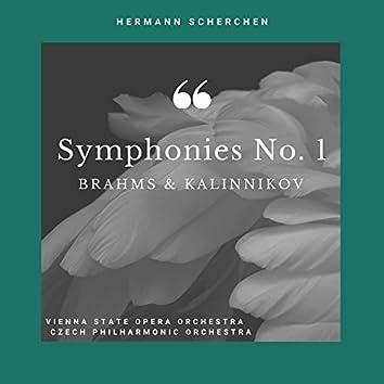 Symphonies No. 1 of Brahms & Kalinnikov