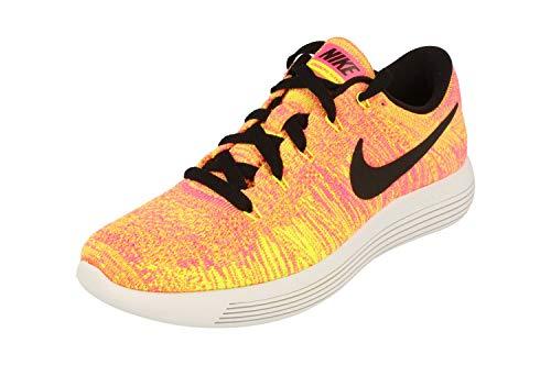 Nike Damen WMNS Lunarepic Low Flyknit oc Laufschuhe, schwarz Multi Color Multi Color, 42 EU