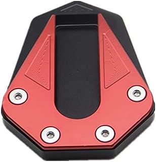 Argent TOOGOO Moto Aluminium Agrandir Extension Support Lat/éral Plaque Agrandir pour Mt-07 Mt07 Xj6 //Abs Fz6R Fz6 S4