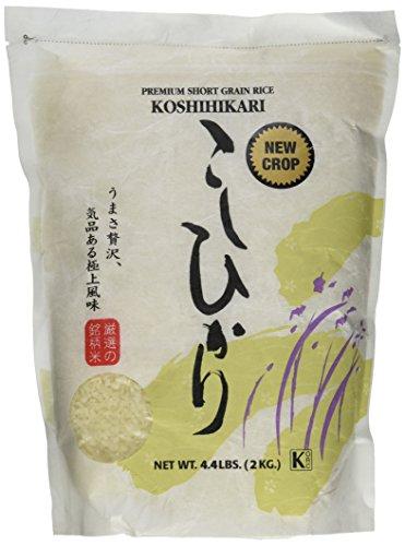 Shirakiku Rice Koshihikari 4.4 LB, 70.4Ounce