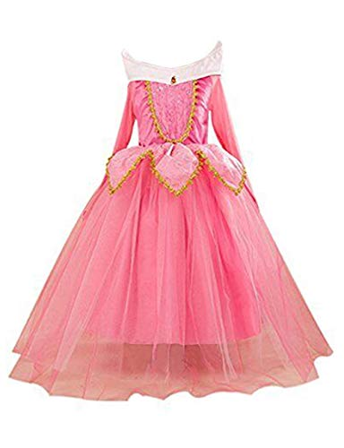 Eyekepper la Bella addormentata, Aurora Costume Festa Vestito 110cm