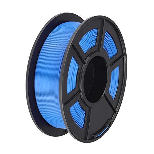 PLA Plus-Filament 1,75mm, 3D-Druckerfilament 1kg (2.2lb), Zähigkeit erhöhte, Dimensionsgenauigkeit +/- 0,02 mm-Blau 1