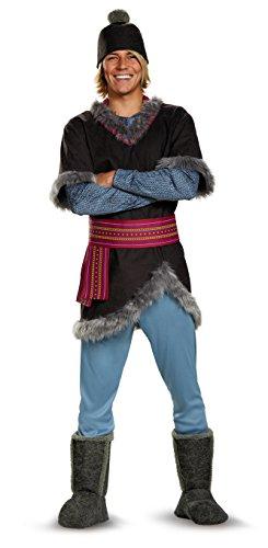 Disney Men's Plus Size Frozen Kristoff Costume, Multi, XXL (50-52)