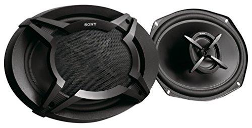 Sony XSFB6920E.EUR - Altavoces coaxiales (2 vías de 6 x 9, Potencia máxima 420 W, Potencia Nominal 60 W), Negro