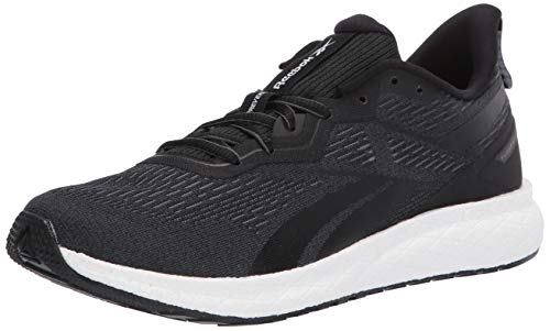 Reebok mens Forever Floatride Energy 2 road running shoes, Black/Cold Grey/White, 10 US