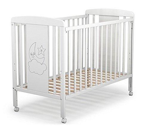 Cuna para bebé, modelo cielo. Incluido el colchón, edredón y protector (sonatina y caja musical de regalo)