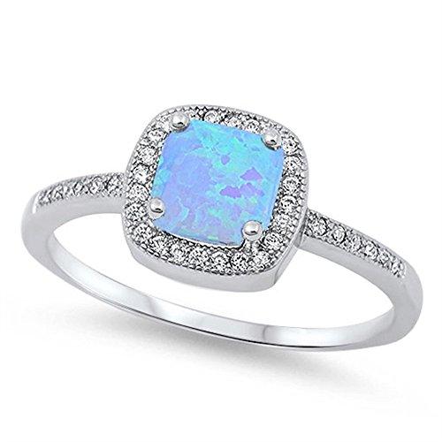 halo light blue - 3