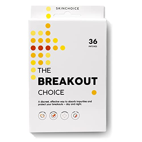 The Breakout Choice by SkinChoice | Hydrocolloid Dots for Acne Pimple Spots, Vegan & Cruelty-Free...