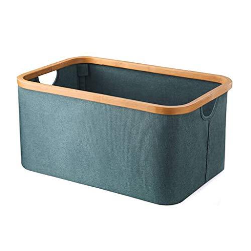 ASYKFJ Cestas de almacenamiento con asa doble incorporada, plegable, impermeable, Oxford, cesto de ropa sucia, para baño, dormitorio, hogar, juguetes y organización de ropa