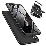 Coque Huawei Y7 Pro 2019 (Version Standard, Aucune Empreinte Digitale) avec Verre Trempé, LaiXin...