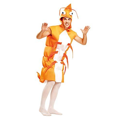 My Other Me Me-201343 Del mar Disfraz de gamba para hombre, M-L (Viving Costumes 201343)
