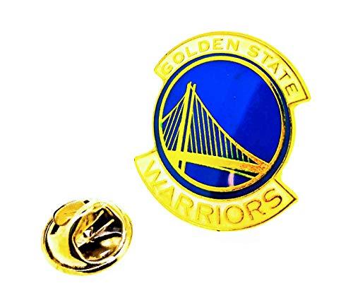 Gemelolandia | Pin de solapa NBA Golden State Warriors 25x20mm | Pines Originales y Baratos Para Regalar | Para las Camisas, la Ropa o para tu Mochila | Detalles Divertidos