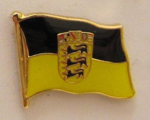 Pin Anstecker Flagge Fahne Baden-Württemberg Landesflagge Flaggenpin Badge Button Flaggen Clip Anstecknadel