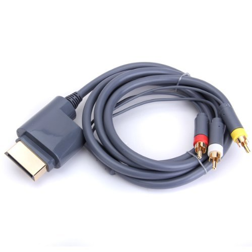Childhood AV Audio Video Optical Cable Cord for Microsoft Xbox 360 Console Video Game