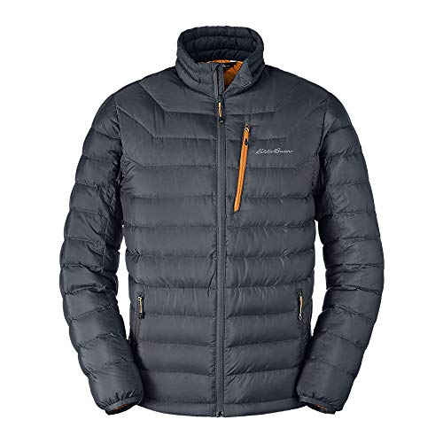 Eddie Bauer Men's Downlight Down Jacket, Storm Regular L