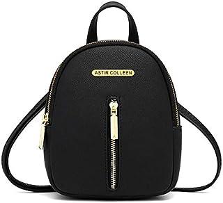 ASTIR COLLEEN Vegan Leather Women/Girls Sling Bag Cum Backpack (Straight-Zip)