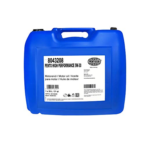 Pentosin 8043208 Pento High Performance 5W-30 Synthetic Motor Oil - 20 Liter