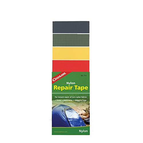 Coghlans Nylon Repair Tape - Set de reparación para Tiendas de campaña, Color Multicolor