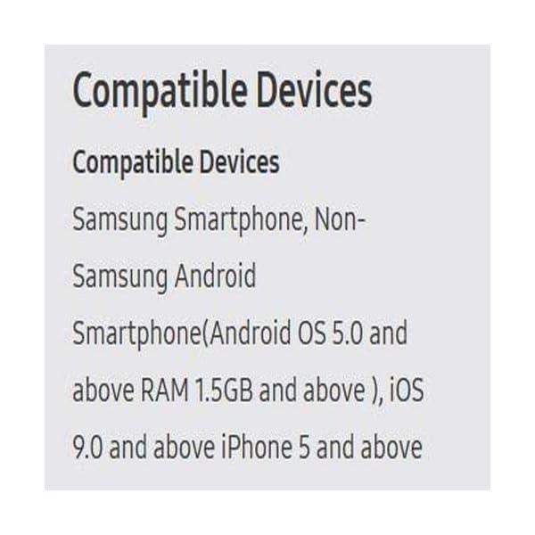 Samsung Galaxy Watch smartwatch (42mm, GPS, Bluetooth) – Midnight Black (US Version with Warranty)