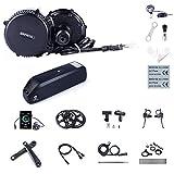 Kit Mid Drive BBS02B 48V 750W Kit Moteur électrique vélo pour Conversion Ebike (Batterie pour...