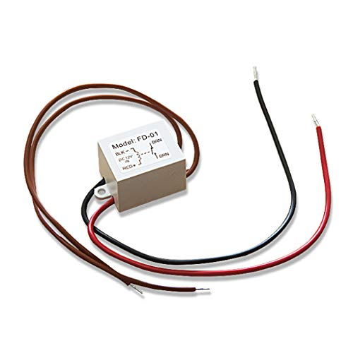 WT-DDJJK Accessoire pour interrupteur, relais anti-buée 12 V, lampe de salle de bain, miroir, film contrôleur, petit relais