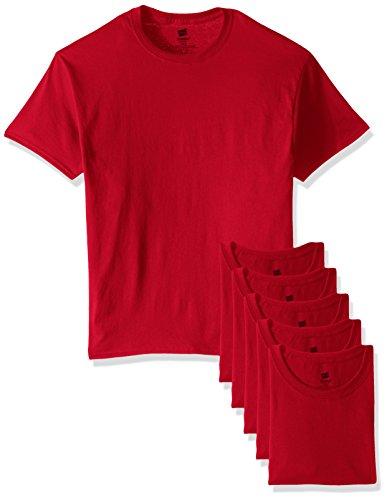 Hanes T-shirt pour homme - Rouge - XX-Large