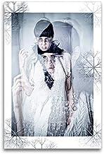 Premium textilduk 60 cm x 90 cm hög, vinterhemligheter | väggbild, bild på kil ram, färdig bild på äkta kanvas, tryck på k...