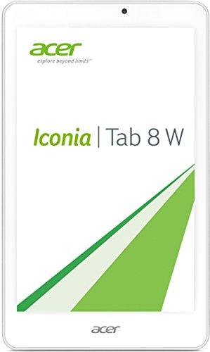 Acer Iconia Tab 8 W (W1-810 HD) 20,1 cm (7,9 Zoll) Tablet-PC (Intel Atom Z3735G, 1,3GHz, 1GB RAM, 32GB eMMC, HD Display mit IPS Technologie, Touchscreen, Win 8.1) weiß