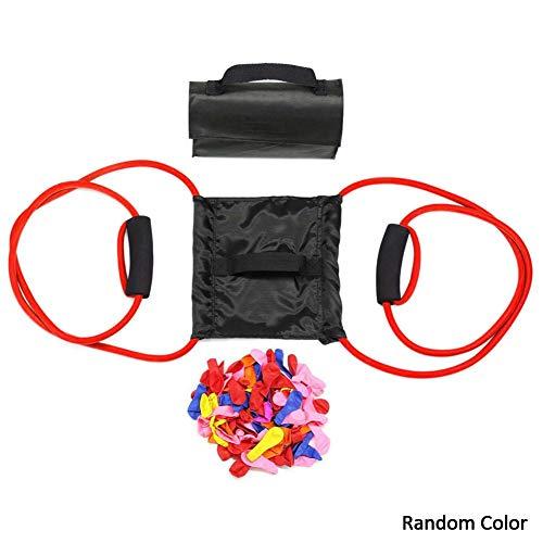 househome Wasserschleuder Wasserbomben Wasserballon Schleuder, Outdoor 3 Personen Schneeball Schleuder, Wasserschleuder Für Kinder Und Erwachsene,mit 100 Water Balloons