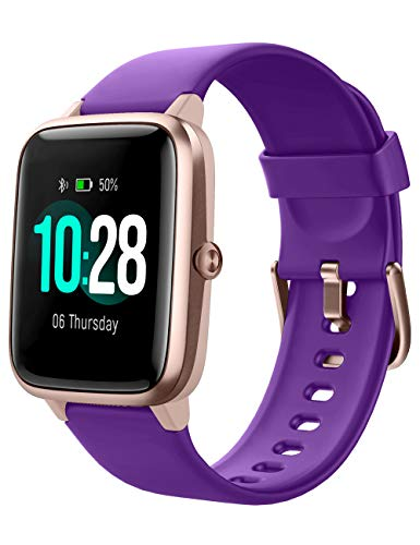 Willful - Reloj inteligente para mujer, hombre, niño, pulsera inteligente, podómetro, medidor de frecuencia cardíaca, impermeable, IP67, rastreadores de actividad
