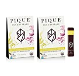 Pique Tea Organic Ginger Digestion Elixir - Gut Health, Fasting, Calm - 28 Single Serve Sticks (Pack...