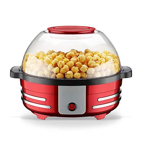 Great Price! fang zhou Mini Automatic Popcorn Machine, 5lhigh Capacity Microwave Popcorns Popper and...