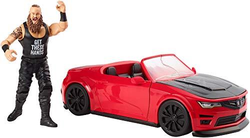 WWE GDC21 - Wrekkin' Slam Mobile inkl. Braun Strowman Figur, Spielzeug Actionfiguren ab 6 Jahren