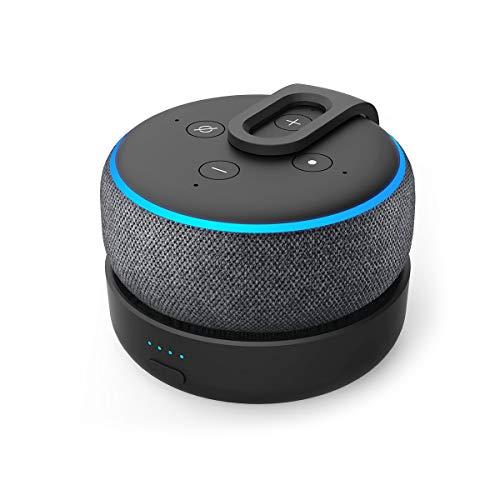Base de Batería para altavoces inteligentes Echo Dot 3ª Generación