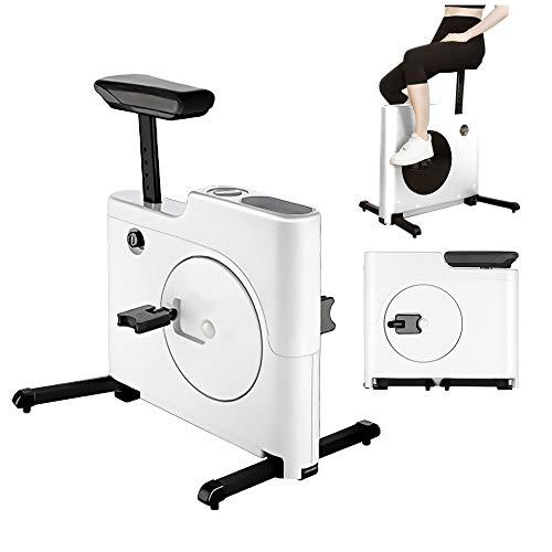 Pieghevole Magnetron Cyclette Regolabile Indoor Spin Bike Mini Magic Box Esercizio Biciclette Bruciare Calorie Cardio Allenamento Silent Bike Trainer