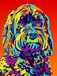 Diamant Borduurwerk Hond Kruissteek 5D DIY Diamant Schilderij Dier Strass Foto Craft Kit Art Foto A6 50x70cm