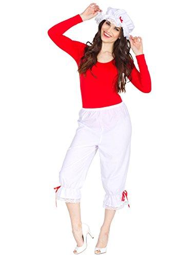 Bristol Novelty BA872 Pantalons, unisex-adult, weiß, Einheitsgröße