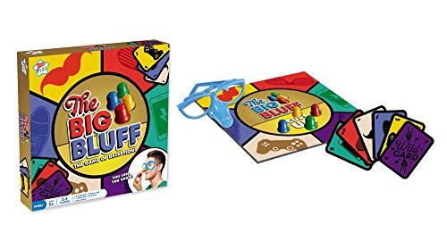 Kids Play The Big Bluff - The Game of Deception - 2-4 Spieler - You Lose, You Grow!