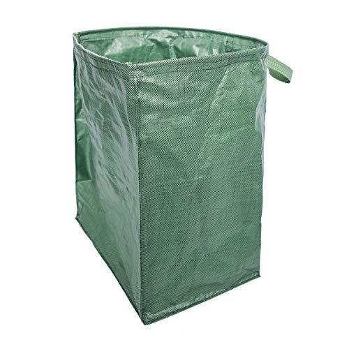 iplusmile ガーデンバッグ ガーデンバケツ 収穫袋 収穫バッグ 収草袋 自立式 折り畳み 収納ホルダーバッグ リーフバッグ 再利用可能 廃棄物 おもちや 庭 戸外 木の葉(グリーン)