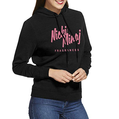 Tengyuntong Herren Kapuzenpullover, Hooded Sweat, Nicki Minaj Women Comfort Hoodie Sweatshirt Black