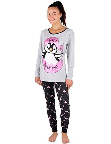Pijama Mujer Chica 100% Algodón Set Mickey Mouse