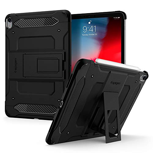 Spigen Tough Armor TECH Designed for iPad Pro 11 Inch Case (2018) - Black