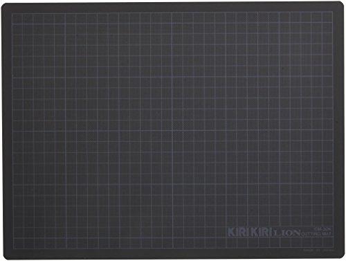 ライオン事務器 カッターマット 320×240mm CM-30K-H グレー