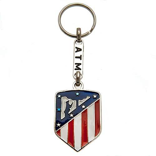 Atletico de Madrid Unisex 89211 Schlüsselanhänger Universale Standard einheitsgröße