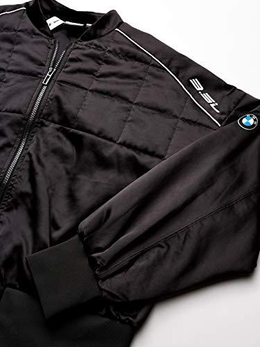 PUMA Women's BMW MOTORSPORT STREET JACKET Fleece Black, XX-Large